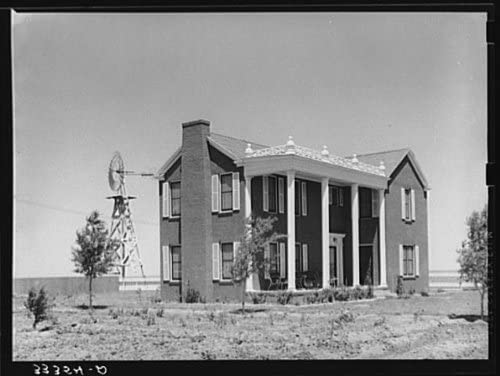 Farm near Ralls,Texas,TX,Farm Security Administration,FSA,Crosby County,1939,10