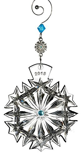 Waterford Snowflake Wishes Happiness Ornament 2018