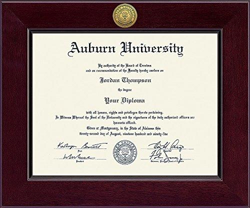 Elite Fan Shop Auburn Tigers Diploma Frame - - Diploma Frame Auburn