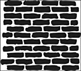 CRAFTERS WORKSHOP 453381 Template, 12x12, Bricks