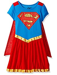 DC Comics Supergirl Nightgown With Cape for girls (10/12)