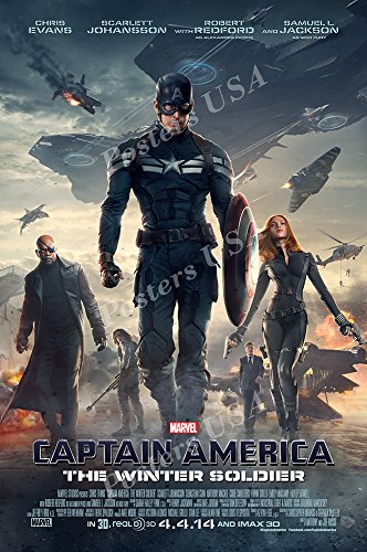 Posters USA Marvel Captain America The Winter Soldier Movie Poster GLOSSY FINISH - FIL266 (24