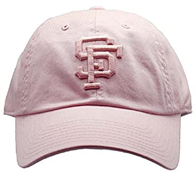 American Needle San Francisco Giants MLB Tonal Ballpark Slouch Cotton Twill Adjustable Hat (Club Pink)