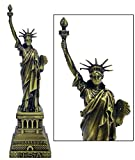 New York City's Collectible Statue Of Liberty Showpiece - 18 cm (7 inch) Tall Statue of Liberty Show Piece for Home Office Decor and Anniversary Birthday Gifts