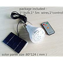 Best to Buy Super Bright - Lithium Battery - 20SMD3528 Dimmable LED Solar Shed Light - Power Adjustable