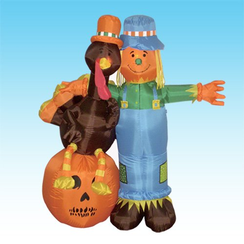 Thanksgiving Inflatable Scarecrow