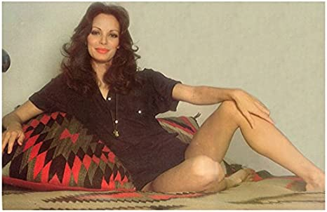 Jaclyn Smith In Black Top Seated Leaning Against Pillow 8 X 10 Inch Photo At Amazon S Entertainment Collectibles Store