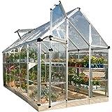 Palram Snap & Grow 6' Series Hobby Greenhouse - 6 x 12 x 7 Silver