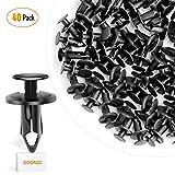 GOOACC - Kit de tornillos de expansión para muebles de automóvil de nailon, 8 mm, 40 unidades