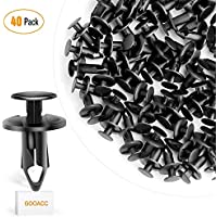 GOOACC Nylon Bumper Fastener Rivet Clips Automotive...