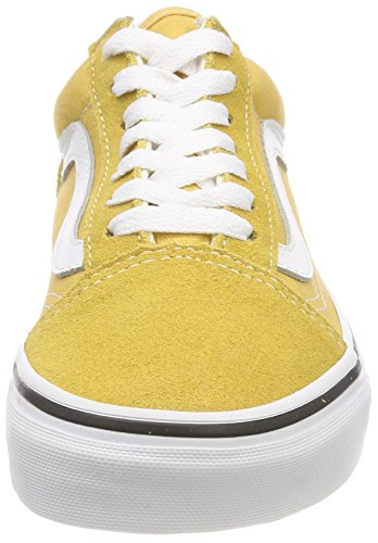 vans damen old skool sneakers gelb