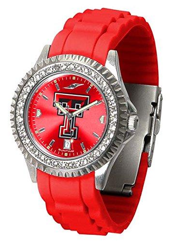 New Linkswalker Ladies Texas Tech Red Raiders Sparkle Watch - Red Raiders Ladies Watch