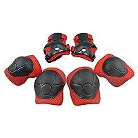 Kinder Schutzset - Topfire Kind s Pad Set mit Knie, Ellenbogen und Handgelenk