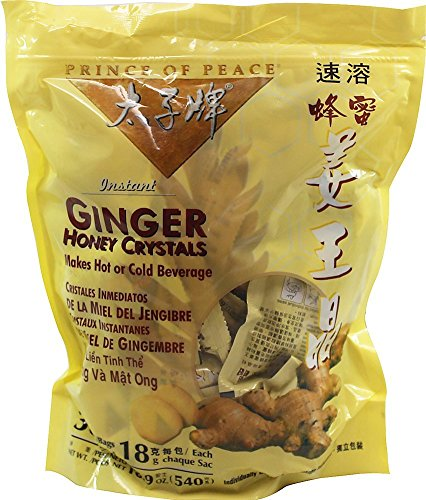 Best Ginger Tea with Honey Crystals