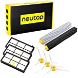 Neutop Parts Replacement for iRobot Roomba 880 980 870 860 960 800 900 805 Robotic Vacuum Cleaner ( 3 Hepa Filters, 3 Side Brushes, 1 Set Roller)