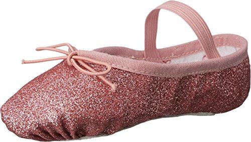 (Bloch Kids Baby Girl's Glitter Dust Ballet Slipper (Toddler/Little Kid) Rose 10 M US)