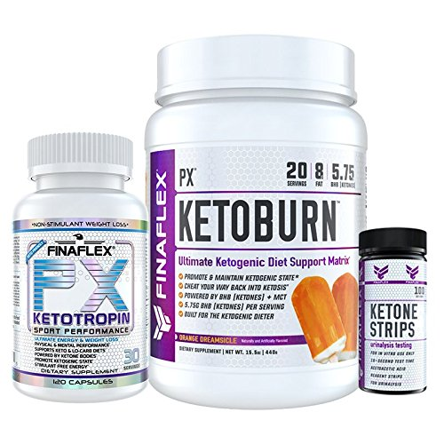 PX KETO KIT, Everything you Need to Induce, Maintain, and Monitor Ketosis, Built for the Ketogenic Dieter, Ultimate Keto Diet Support, Built for Both the Advanced and Beginner Keto Dieter, Lose Weight by FINAFLEX