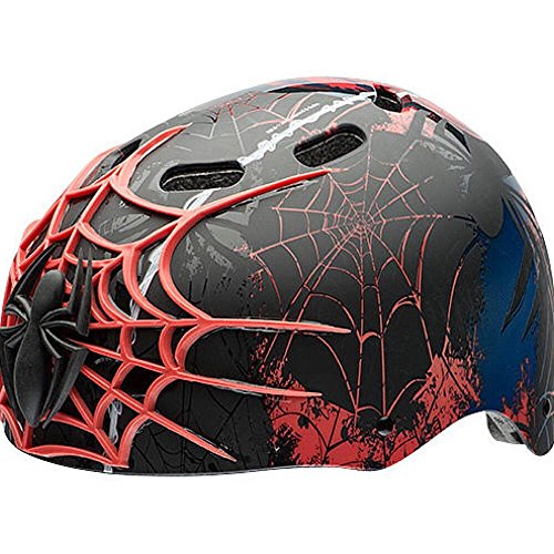 Marvel Spiderman Kids Skate / Bike Helmet Pads & Gloves - 7 Piece Set by Marvel (Image #2)