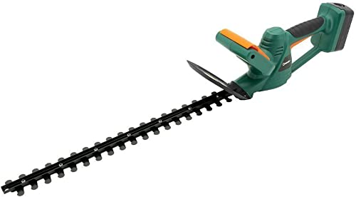 DOEWORKS 20V Li-ion Battery Cordless Electric Hedge Trimmer