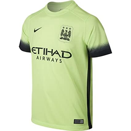 official photos 460a5 8378a 2015-2016 Man City Third Nike Football Shirt, Jerseys ...