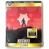 Ant-man libro de acero coleccionable blu-ray y digital