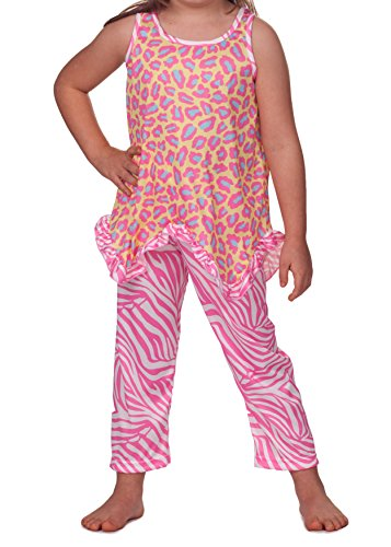 Laura Dare Little Girls Skin Perfection Racerback Pajama, Size 4