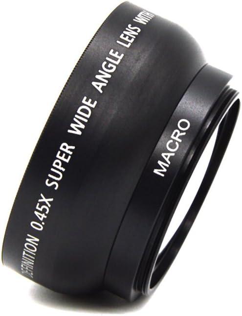 49mm 0.45x Wide Angle Camera Lens with Macro Lens for Sony Alpha NEX-3 NEX-5