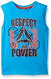 Reebok Boys' Toddler Competition Active Muscle Tank, Blue Danube 2T