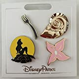 #7: Disney Pin 124612 The Little Mermaid Icons Pin Set (4 pins) Ariel