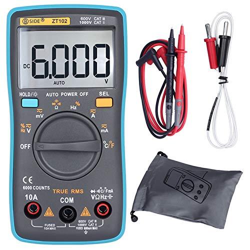 BSIDE ZT102 Pocket Digital Multimeter True RMS