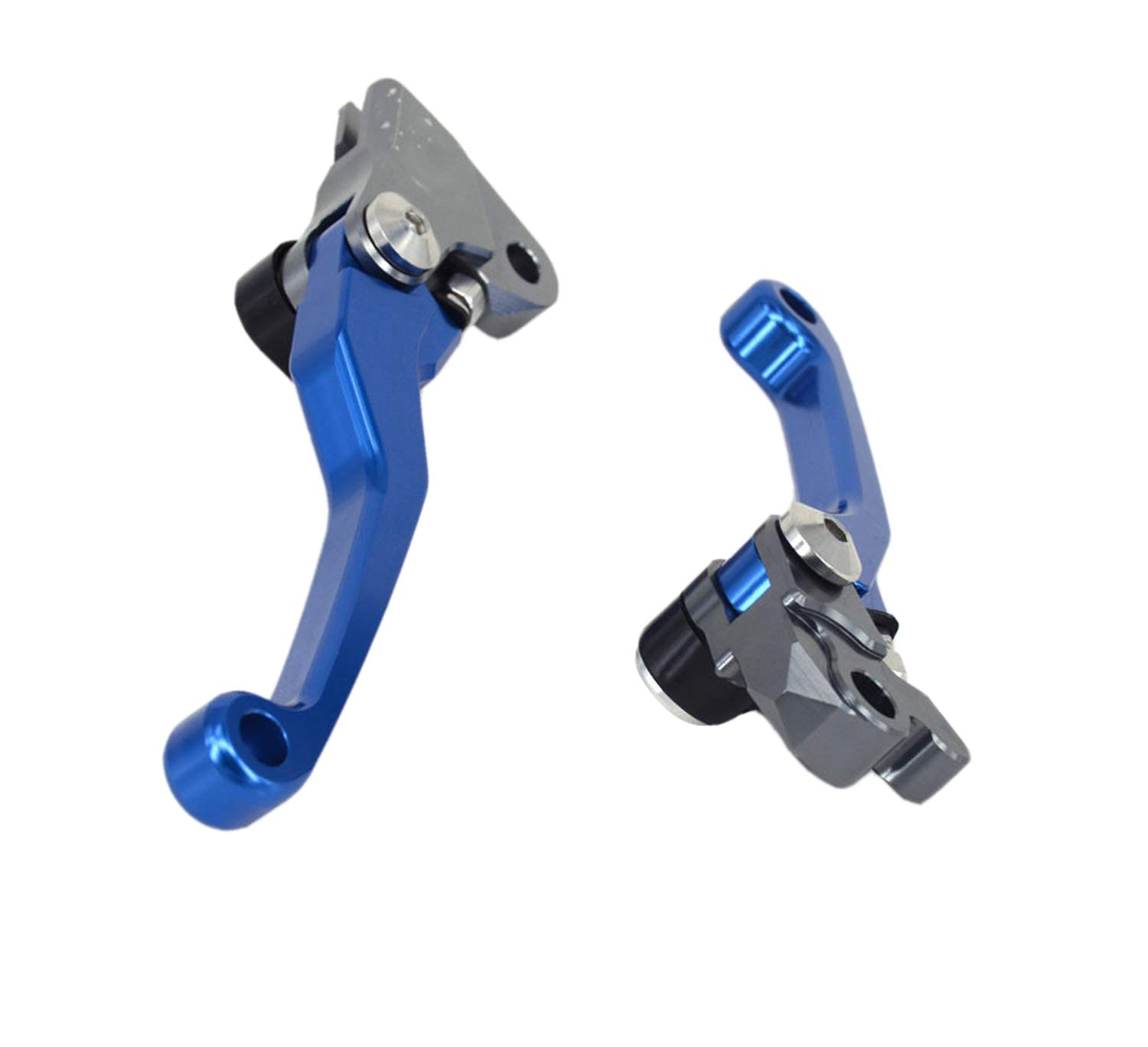 Billet Pivot Brake Clutch Levers for Yamaha WR250R//X SEROW225//250 TTR250 with Handlebar Grips Air Vent Tube