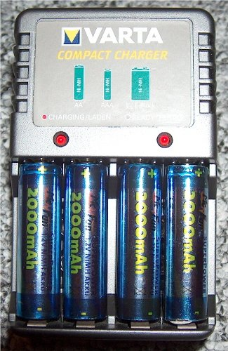 Varta 57039 cargador NiMH-batería