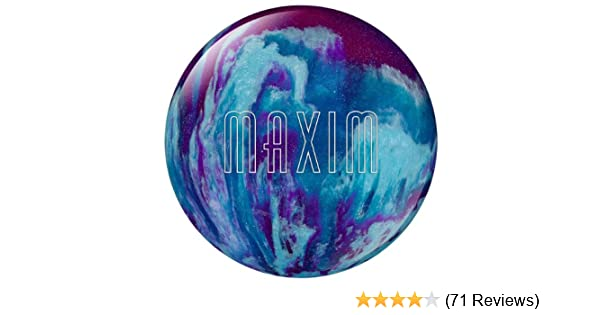 Amazon.com : Ebonite Maxim Bowling Ball, Black/Purple/Gold, 10 Pound :  Purple Bowling Ball : Sports U0026 Outdoors