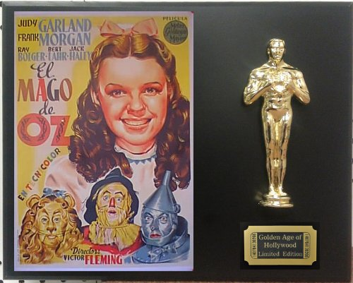 """Judy Garland in """"Wizard of Oz"""", Limited Edition Oscar Display. Only 500 made. Limited quanities. FREE US SHIPPING"""