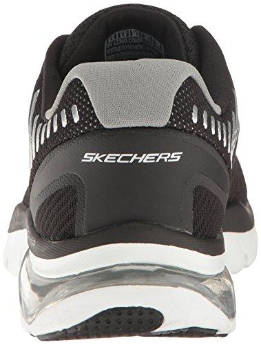 Skechers Skech White Women's Cloud Sport Black Air Fashion RRg7vrwq