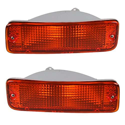 Side Marker Parking Corner Lights Lamp Left/Right Pair Set for Toyota Pickup