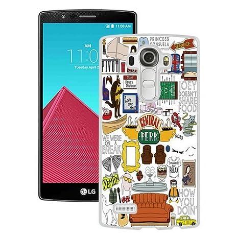 Amazon.com: LG G4 Case, amigos TV Show Collage Negro ...