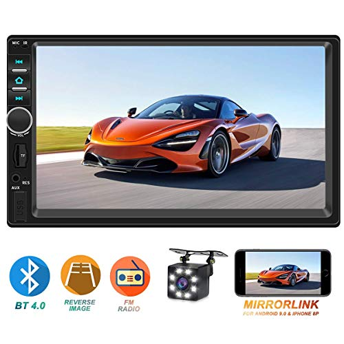 touchscreen car radio with camera - 7