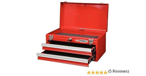 KS Tools 891.0002 - Caja de herramientas (2 cajones, 1 bandeja, vacía): Amazon.es: Bricolaje y herramientas