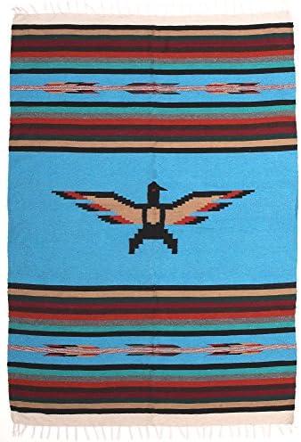 Amazon.com: tela a mano Thunderbird falsa Manta. Heavyweight ...