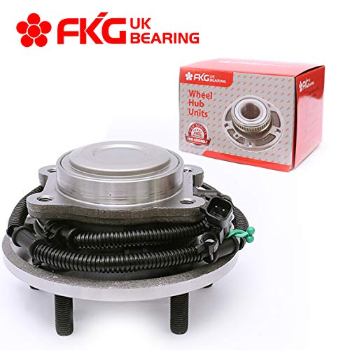 FKG 512360 Rear Wheel Bearing Hub Assembly fit for 2008-2012 Dodge Grand Caravan, 2008-2012 Chrysler Town & Country, 2009-2012 VW Routan, 5 Lugs W/ABS