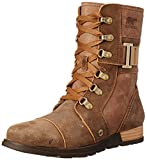 Sorel Women's Sorel Major Carly Snow Boot, Nutmeg, Flax, 10 B US