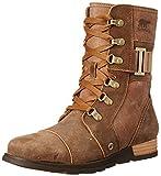 Sorel Women's Sorel Major Carly Snow Boot, Nutmeg, Flax, 7 B US