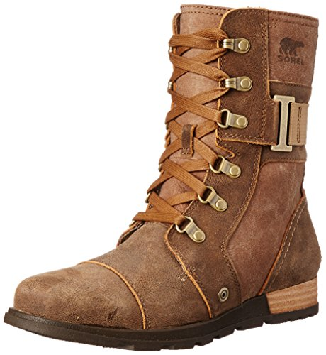 Sorel Women's Major Carly Snow Boot, Nutmeg, Flax, 8 B US by SOREL (Image #1)