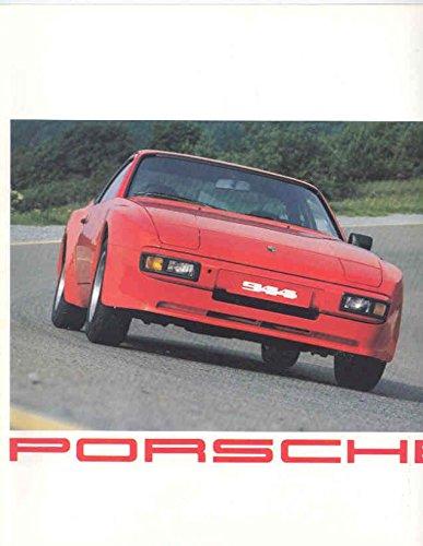 1982 Porsche 924 924 Turbo 944 911 911SC 930 Turbo 928