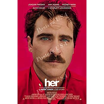 Amazoncom Her 2013 27 X 40 Movie Poster Style A Posters Prints