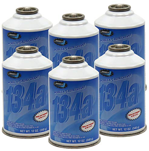 ZeroR R-134a Refrigerant - Made in USA - 12oz Cans (6)