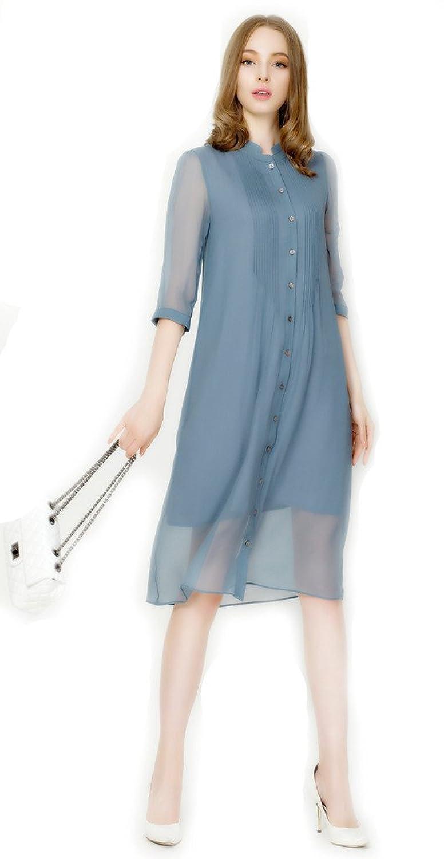 Kokoda Women's Button Down Silk Shift Dresses