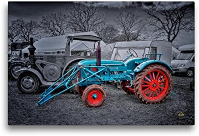 Premium-Poster Deutz Traktor Oldtimer Peter Roder