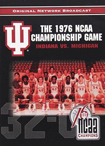 2004 Ncaa Basketball Champions - NCAA Championship 1976: Indiana vs. Michigan